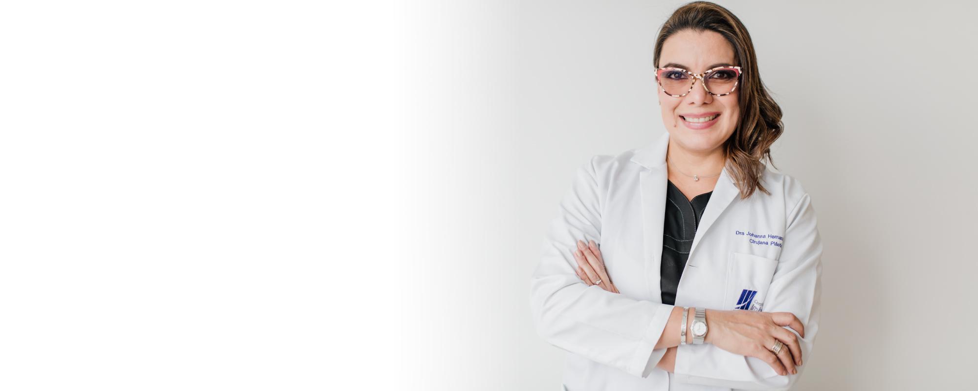 Johanna Hernández es <span>Experiencia, Sapiencia y Amabilidad</span>